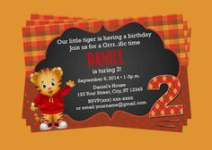 Daniel Tiger's Neighborhood Personalized by PartyCreations4u, $10.00