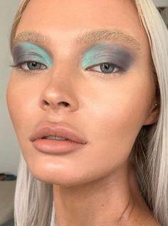 The beautiful miss using Sb foundation mixed with vision cream colour and prism fix hydrating lotion,… Cool Makeup Looks, Cute Makeup, Glam Makeup, Gorgeous Makeup, Pretty Makeup, Skin Makeup, Makeup Art, Beauty Makeup, Bridal Makeup
