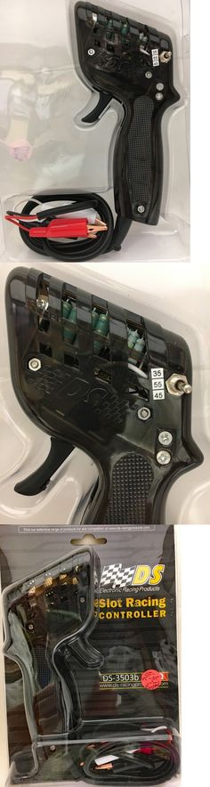 BLACK HO SLOT CAR CONTROLLER BY DS 120//90//60 OHM WITH BOOTED ALLIGATOR CLIPS