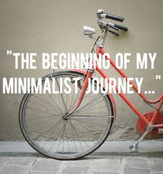 How to turn unemployment into a journey towards minimalism where less stuff and relationships with others take priority.