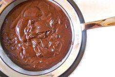 Υπέροχη,πεντανόστιμη πανευκόλη και νηστισιμη!!!!  Υλικά: 200 γρ. φουντούκια 1 πακέτο κακάο (125 γρ.) 1 ποτήρι νερό 1 1/2 ποτήρι ζάχαρη 1 βανίλια 70 γρ. κουβερτούρα  Εκτέλεση:  Αλέθετε τα φουντούκια στο μπλέντερ όσο καλύτερα μπορείτε ή όσο θέλετε.    Βάζετε όλα τα υλικά σε κατσαρόλα και τα βράζετε για 5 …
