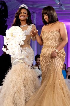 Kandi & Momma Joyce -Wedding Day