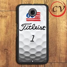 Titleist Golf Ball Print Nexus 5,Nexus 6,Nexus 7 Case