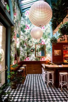 Experiencing Leo's Oyster Bar - Diy İdeas for Home Bathroom Interior Design, Modern Interior Design, Interior Design Inspiration, Cafe Interior, Kitchen Interior, Interior And Exterior, Exterior Design, Deco Restaurant, Restaurant Design