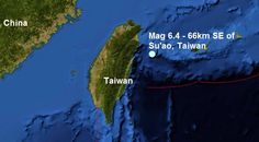 .: Another big one....A mag 6.4 quake, 66km south eas...