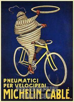 Italy michelin pneumatici tires for cycles bicycle bike vintage poster repro-Ouch, that must hurt! Poster Retro, Poster Vintage, Pub Vintage, Vintage Bikes, Vintage Italian, Vintage Advertising Posters, Vintage Advertisements, Michelin Man, Michelin Tires