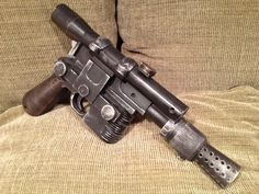 Star Wars: A New Hope - Han Solo Blaster with blaster sounds