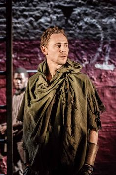 Tom Hiddleston | as Shakepeare's #Coriolanus at the #Donmar Warehouse in London, UK (December, 2013)
