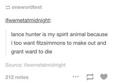 I really didn't want Ward to die, but Hunter is so awesome.