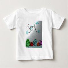 Joy,holiday,christmas,ornaments Baby T-Shirt