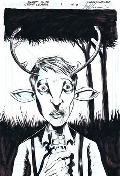 Jeff Lemire - one of my favorite books right now Sweet Tooth.  Consistently giving me an emotional response!