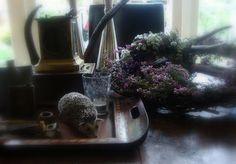 fall decor heather wreath Kom Achterom: handwerk