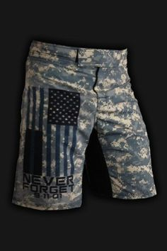 I want these!! Men's Workout Shorts - Rigor Gear wish it was in AF pattern