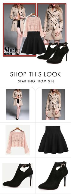 """SheInSide-X/6"" by dzemila-c ❤ liked on Polyvore featuring WithChic, Sheinside and shein"