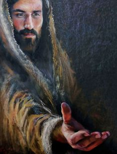 Will you hold Jesus Christ's Hand? Thank you, dear Lord, Jesus Christ. Who is my God, my Lord, my Savior! Pictures Of Jesus Christ, Religious Pictures, Religious Art, Jesus Our Savior, Jesus Is Lord, Bibel Journal, Jesus Painting, Saint Esprit, Jesus Christus