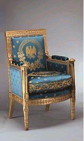 Sillón estilo Imperio Berger c. 1815.