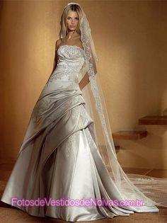 Vestido de Noiva - Tomara que Caia