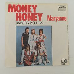 "Bay City Rollers Maryanne Money Honey Different YUGOSLAV 7"" 45rpm 1976 Glam Rock 