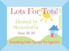 Welcome to the Lots for Tots Giveaway Hop Hosted by: MamatheFox, The Kids Did It & The Mommy Island Giveaway runs from: 6/16 to 6/30/17!! This year a bunch of stellar bloggers linked up to offer you a ton of exciting children's based prizes! At each stop in this hop you can enter to win …