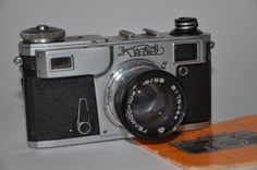 Camera Kiev - 4AM  Soviet small format rangefinder camera