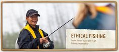 #Fishing ethics and best practices.