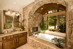 Eclectic Bathroom Design, Pictures, Remodel, Decor and Ideas - page 3 Eclectic Bathroom, Rustic Bathrooms, Dream Bathrooms, Beautiful Bathrooms, Master Bathrooms, Luxury Bathrooms, Bathroom Interior, Small Bathrooms, Master Baths