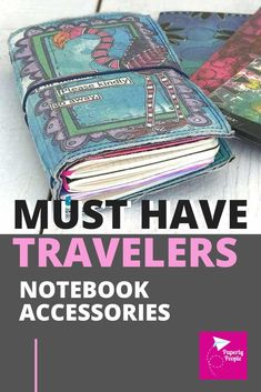 Here are my top tips and ideas for putting together your own DIY travelers notebook journal. From products like inserts and covers to clips and washi tape, I show all my favorite accessories and let you know where to get them!