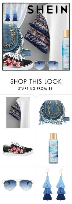 """""""shein - 1"""" by decystar ❤ liked on Polyvore featuring Vans, Victoria's Secret and Christian Dior"""