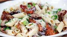 Penne with Ricotta and Mushrooms by Chef Lidia Bastianich