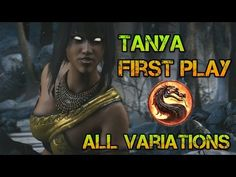Mortal Kombat X: Tanya - I Have A Staff? (All 3 Variations Gameplay) - YouTube