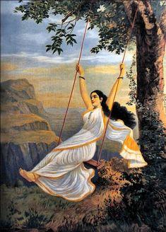 Raja Ravi Varma - 'Mohini'