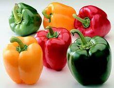versch kleuren paprika