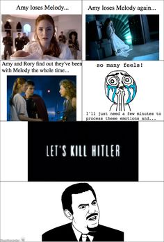 And then...Let's Kill Hitler. I always felt like there should've been something in between more with baby melody instead of river.