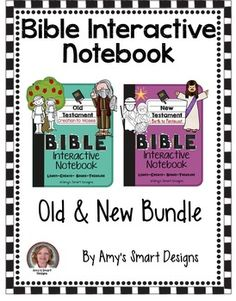 This is a bundle of my  best selling Bible Interactive Notebooks.  These have been used in classroom, homes, and churches around the world.  My students love making Bible Interactive Notebooks!  They have made my bible classes more meaningful!It includes Old Testament Interactive activities for over 20 stories.It includes New Testament interactive activities for over 28 stories.