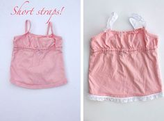 too short baby top remake #baby #diy