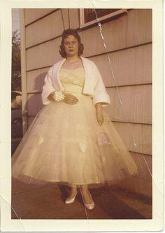 Grandma Gloria, Prom 1957 by eventualprocrastination, via Flickr