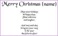 christmas poems for mom   Christmas   Pinterest   Card sentiments ...