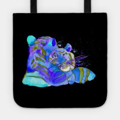 Totes by fairychamber | TeePublic Blue Art, Tote Bags, Totes, Whimsical, Original Paintings, Wall Art, Illustration, Artwork, Artist