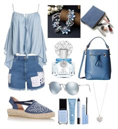 """""""Untitled #182"""" by elisa-toni ❤ liked on Polyvore featuring House of Holland, Sans Souci, Kanna Shoes, Vince Camuto, Furla, Ray-Ban, Accessorize, shu uemura, Thalgo and women's clothing"""