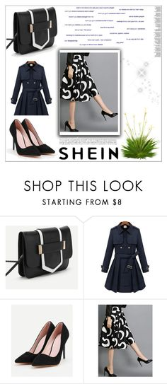"""// SHEIN // 6/XV"" by nura-akane ❤ liked on Polyvore featuring modern"