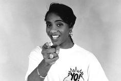 MC Lyte - hip hop goddess, vegan