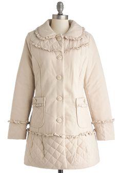 Warm! Bucktown Boutique Coat | Mod Retro Vintage Coats | ModCloth.com