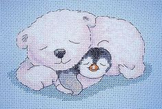 Pitt & Pat Cute Cross Stitch  Christmas 2013  Saved