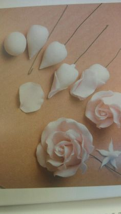 Gumpaste Roses overview