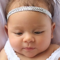Girls Headband, Girls Headbands, Silver Headband, Baby Halo Headband, Baby Girl Headband, Infant Headbands, Infant Headband, Headband Silver Halo Headband, Silver Headband, Baby Girl Headbands, Christmas Headbands, Infant, Girls, Accessories, Fashion, Little Girls
