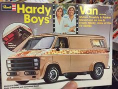 Model Cars Kits, Kit Cars, Plastic Model Kits, Plastic Models, Parker Stevenson, Boys Vans, Custom Vans, Vintage Models, Old Toys