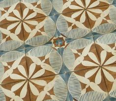 New Antiqued Decorative Tiles from Tabarka Studio Give You More Reasons to Stare at the Wall Floor Patterns, Tile Patterns, Textures Patterns, Tile Design, Pattern Design, Tabarka Tile, Bath Tiles, Machuca Tiles, Cement Tile Backsplash