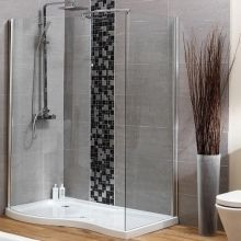 Walk In Shower Enclosure - Hydrolux Enter Right Hand | Hydrolux Walk In Shower Enclosures, Contemporary Shower, Loft Room, Glass Shower, Upstairs Bathrooms, Cubicle, Dressing Room, Showers, Footprint