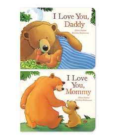 Another great find on #zulily! I Love My Mommy & Daddy Hardcover Set #zulilyfinds