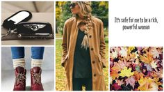fall wallpaper. autumn. fashion. outfit. bentley. luxury, car. boots. leavs. quote.